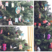 Advent Calendar Tree Ornaments – Favorite DIYs of 2013!