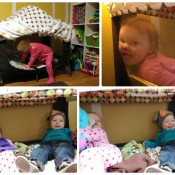 Book Nook – Pack'n'Play Repurpose – Favorite DIYs of 2013