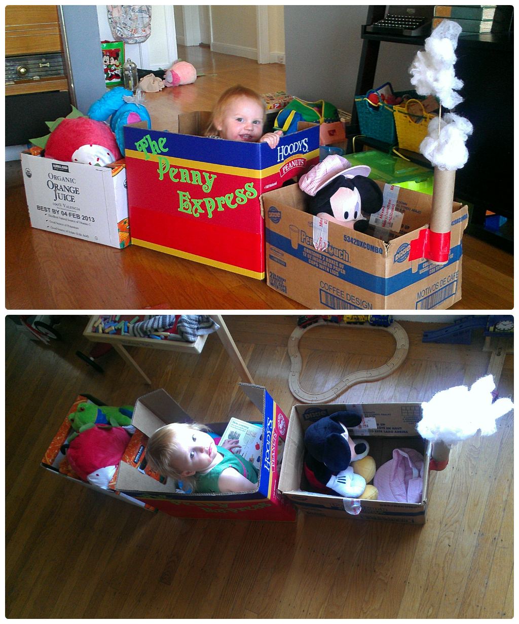 Creative Cardboard Play – Favorite DIYs of 2013