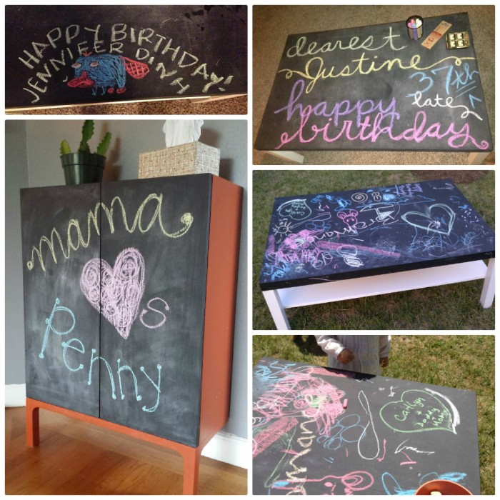 Chalkboard Paint – Little Work, Lotta Wow