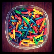 Rainbow Pasta! – Favorite DIYs of 2013